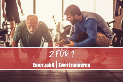 2 FÜR 1 - Angebot