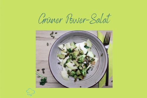 Grüner Energie-Salat