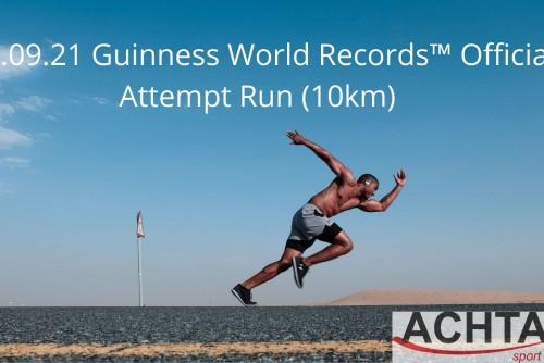 19.09.21 Guinness World Records™ Official Attempt Run (10km)