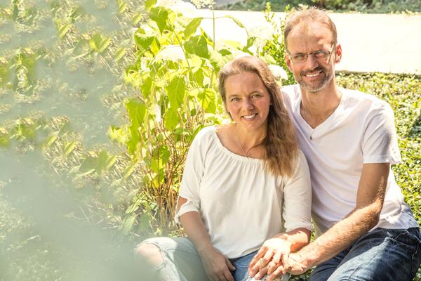 Sigune und Michael Swieczkowski Inhaber des Fit for Life Hildburghausen