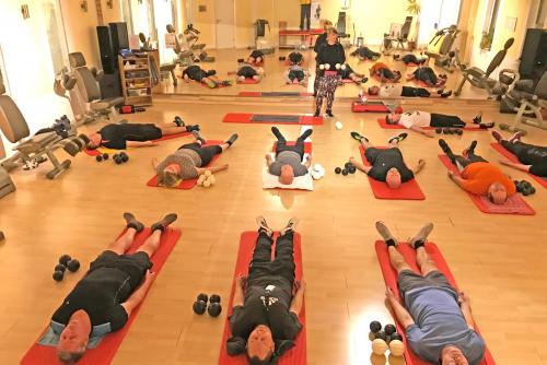 Aktiv gegen Rückenschmerz