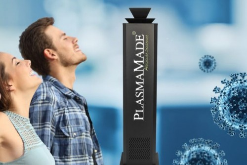 AIRCleaner - Saubere Luft durch PlasmaMade