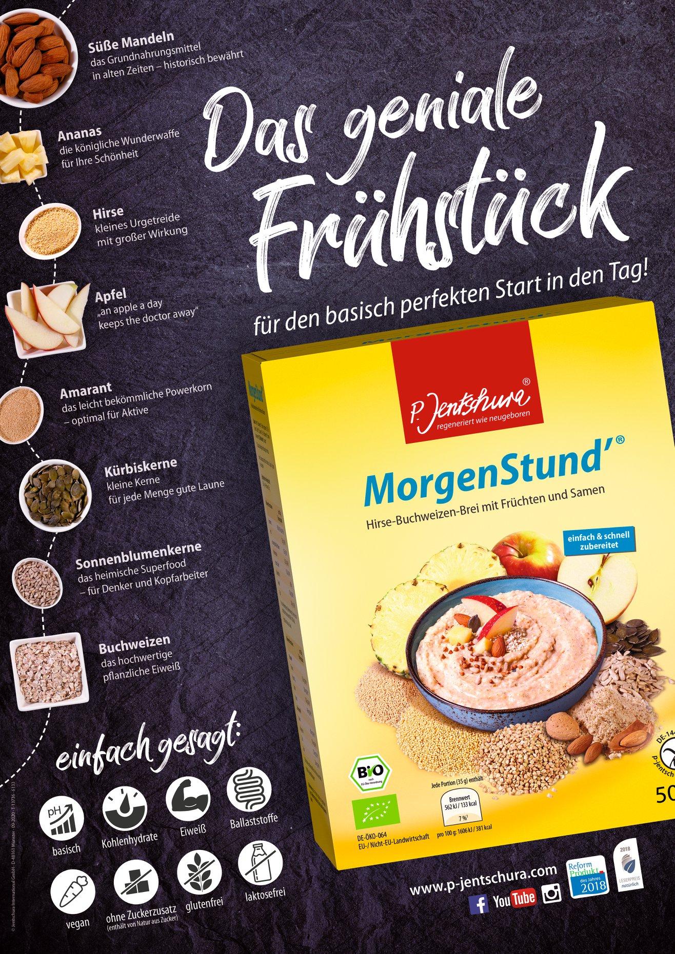 Morgenstund Frühstücksbrei P.Jentschura