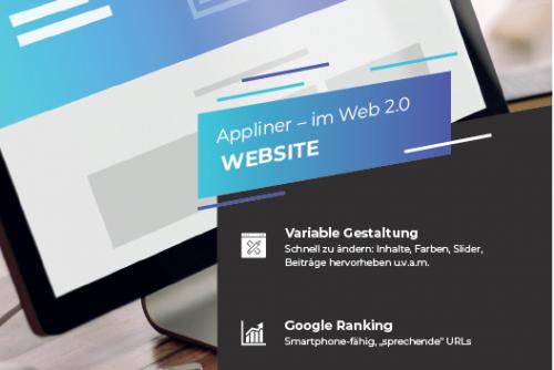 Webseiten von Appliner
