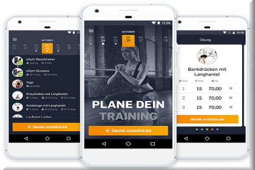 eGym Fitness App