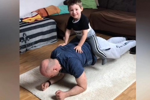 Training mit den Kids