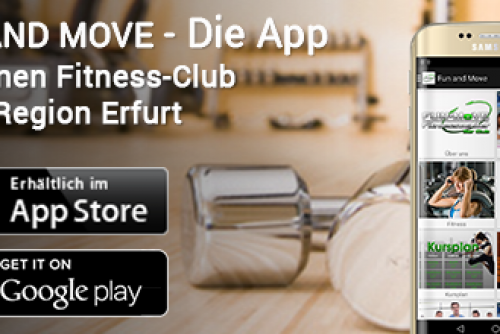 Fun+Move App ist da!