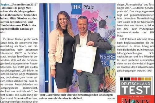Auszeichnung IHK Pfalz