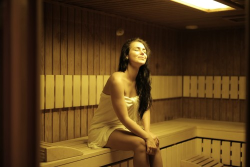 Sauna und Entspannung